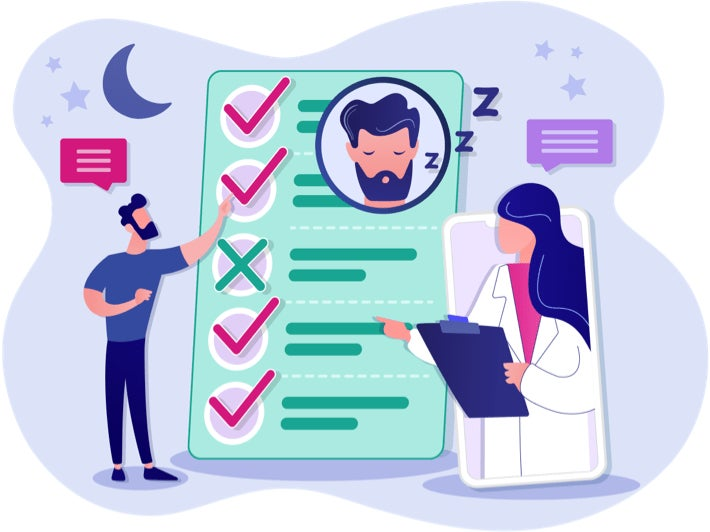 SleepAgain - Home Sleep Test - Step 1 - Doctor Consult