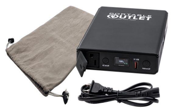 Portable Outlet UPS Battery with Bag and Power Cord