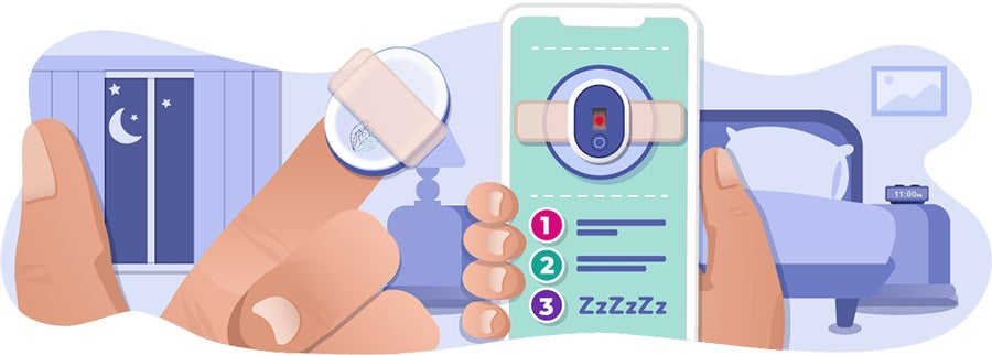 SleepAgain - Home Sleep Test - Mobile Image - Step 2 Home Test