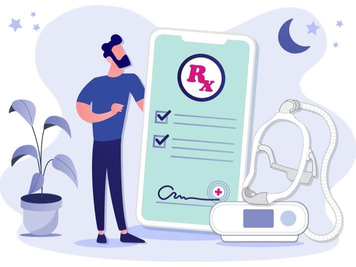 SleepAgain - Home Sleep Test - Step 3 - Diagnosis and Prescription
