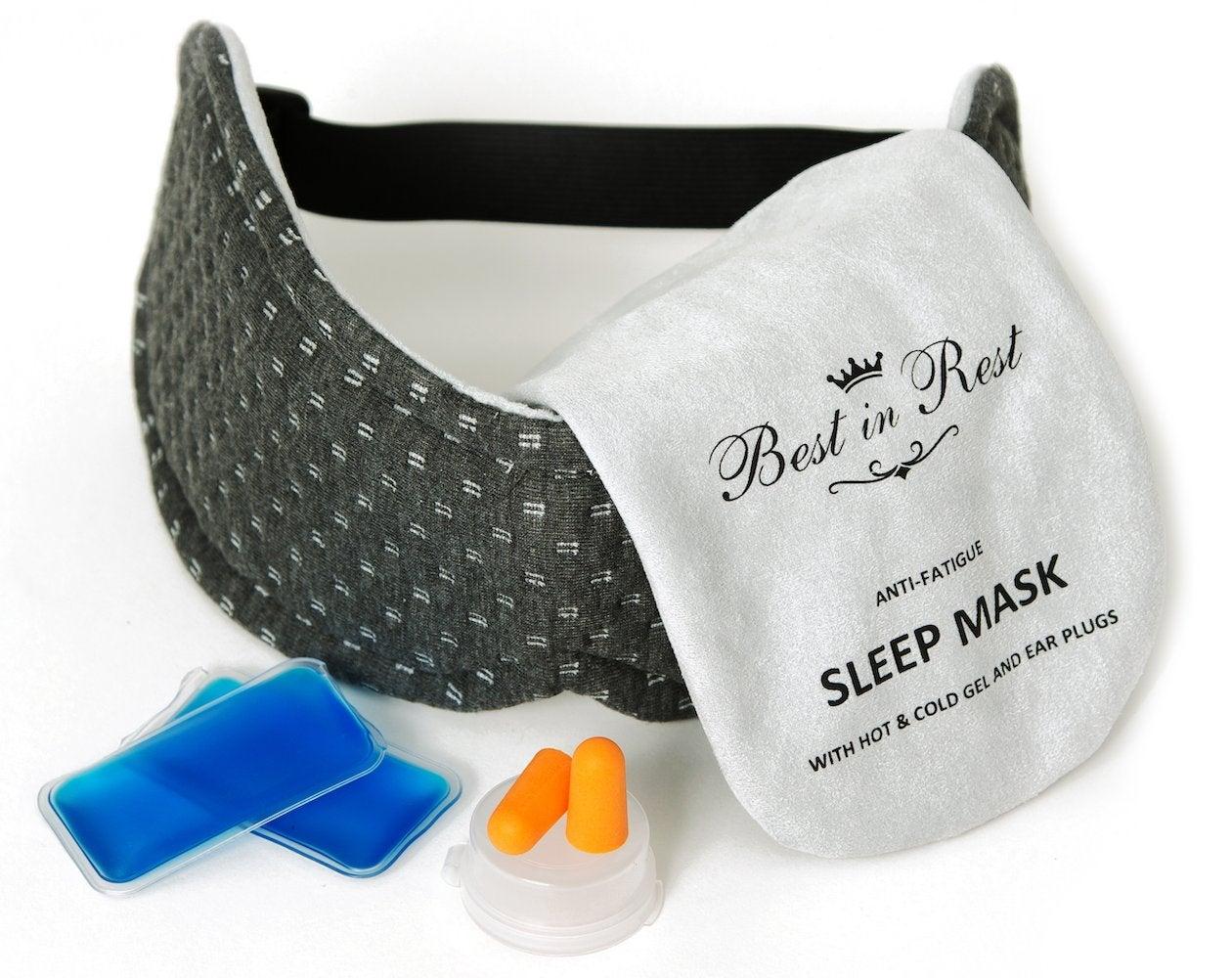Best in Rest Luxury Memory Foam Anti-Fatigue Sleep Mask