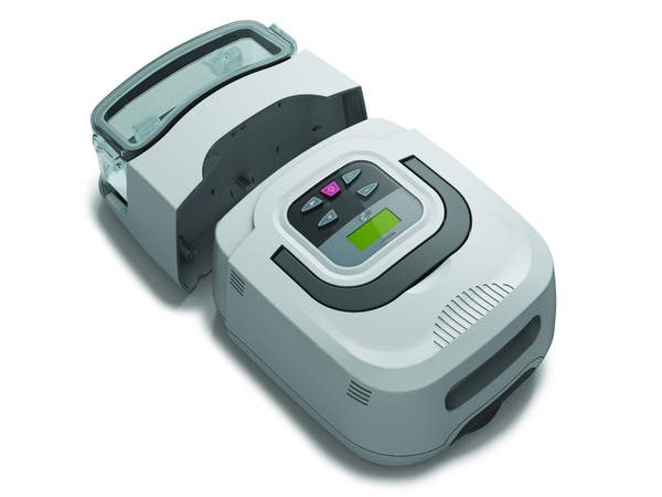 RESmart CPAP Machine Shown with Humidifier