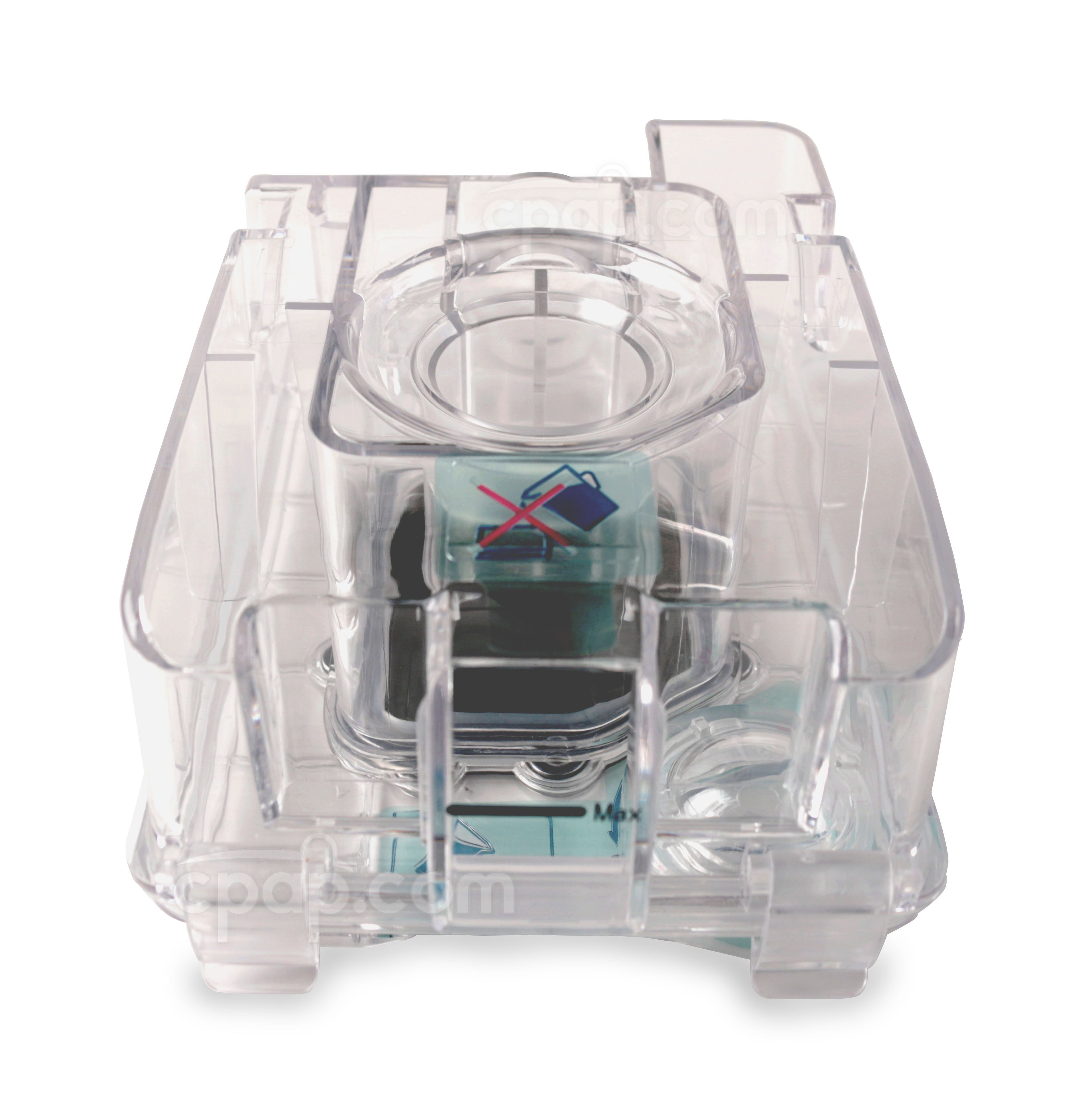 Front View of the Water Chamber for Luna Integrated H60 Heated Humidifier