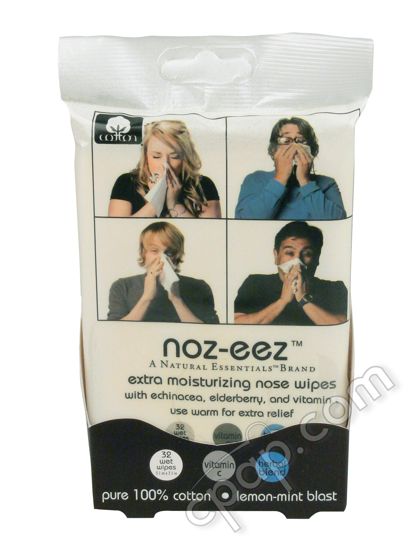 Noz-eez Moisturizing Nose Wipes