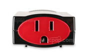 Product image for 150W Modified Sine Wave Inverter for Portable Outlet & Freedom Travel Battery Packs for CPAP Machines