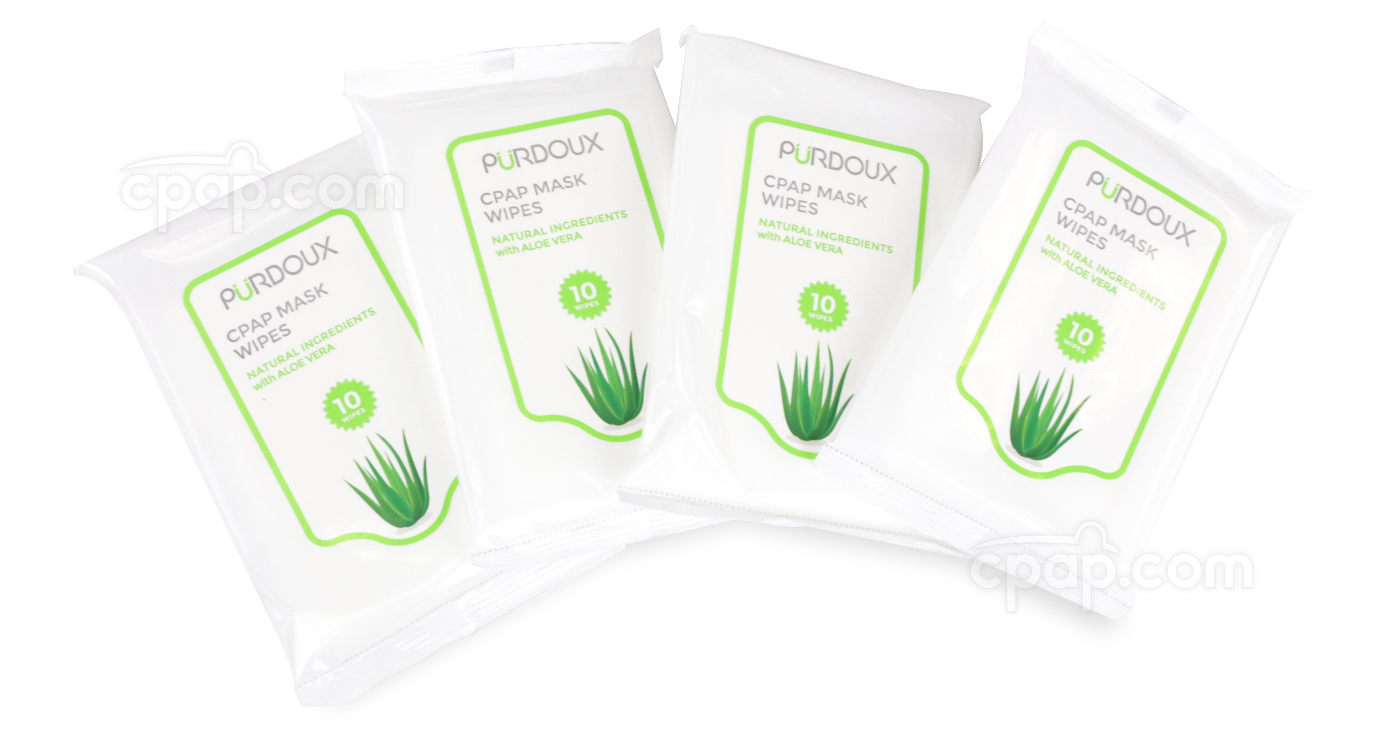 Purdoux Travel Mask Wipes with Aloe