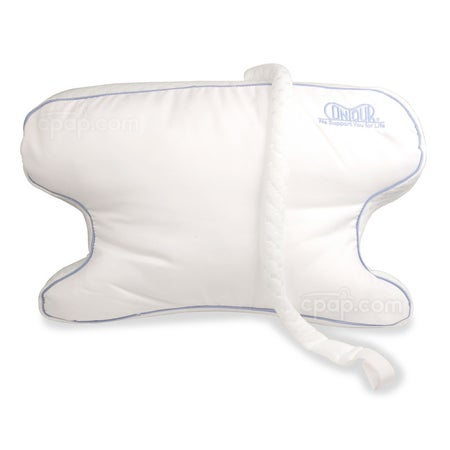 CPAP Max 2.0 Pillow - Showing the Hypoallergenic Fiber Side of the Pillow