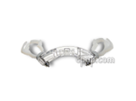 Product image for Curved Bracket with Adjustable Hose Clamps for CPAP PRO<sup>®</sup> Nasal Pillow Mask