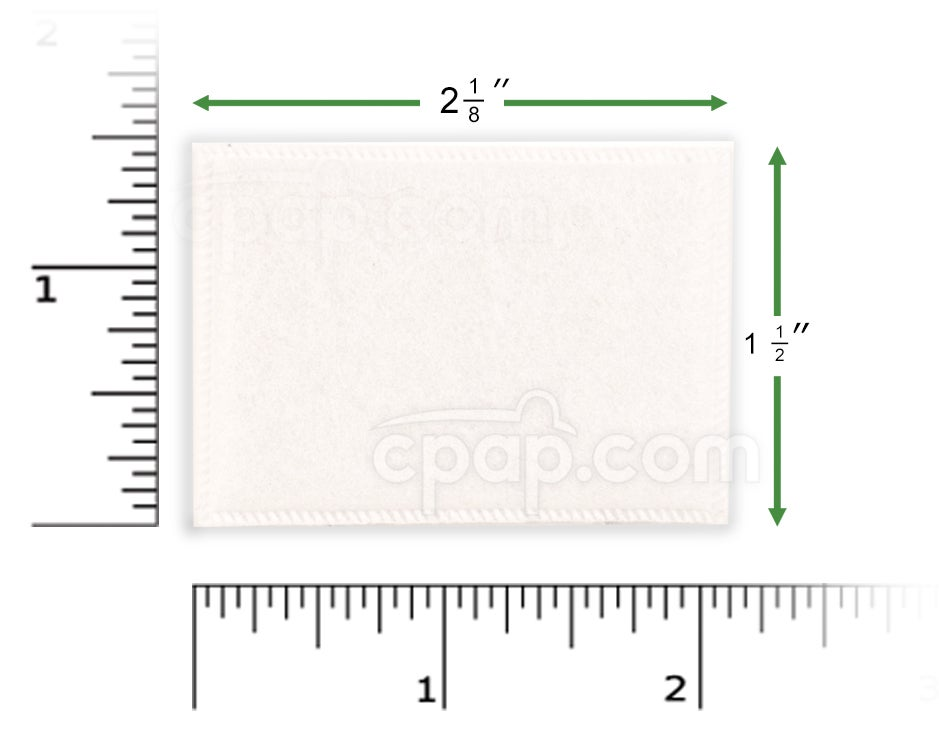 White Fine Filter for Curasa Machines (Rulers not Included)