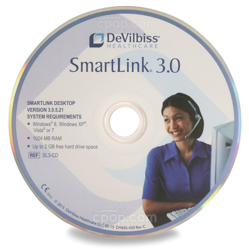 SmartLink 3.0 CD for DeVilbiss IntelliPAP and IntelliPAP 2 Machines