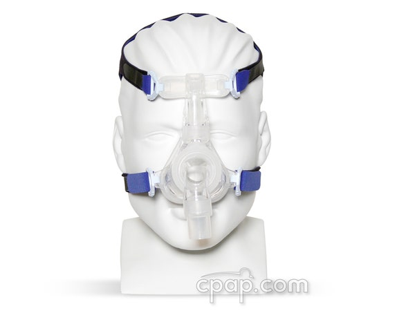 EasyFit Silicone Nasal CPAP Mask - Front on Mannequin