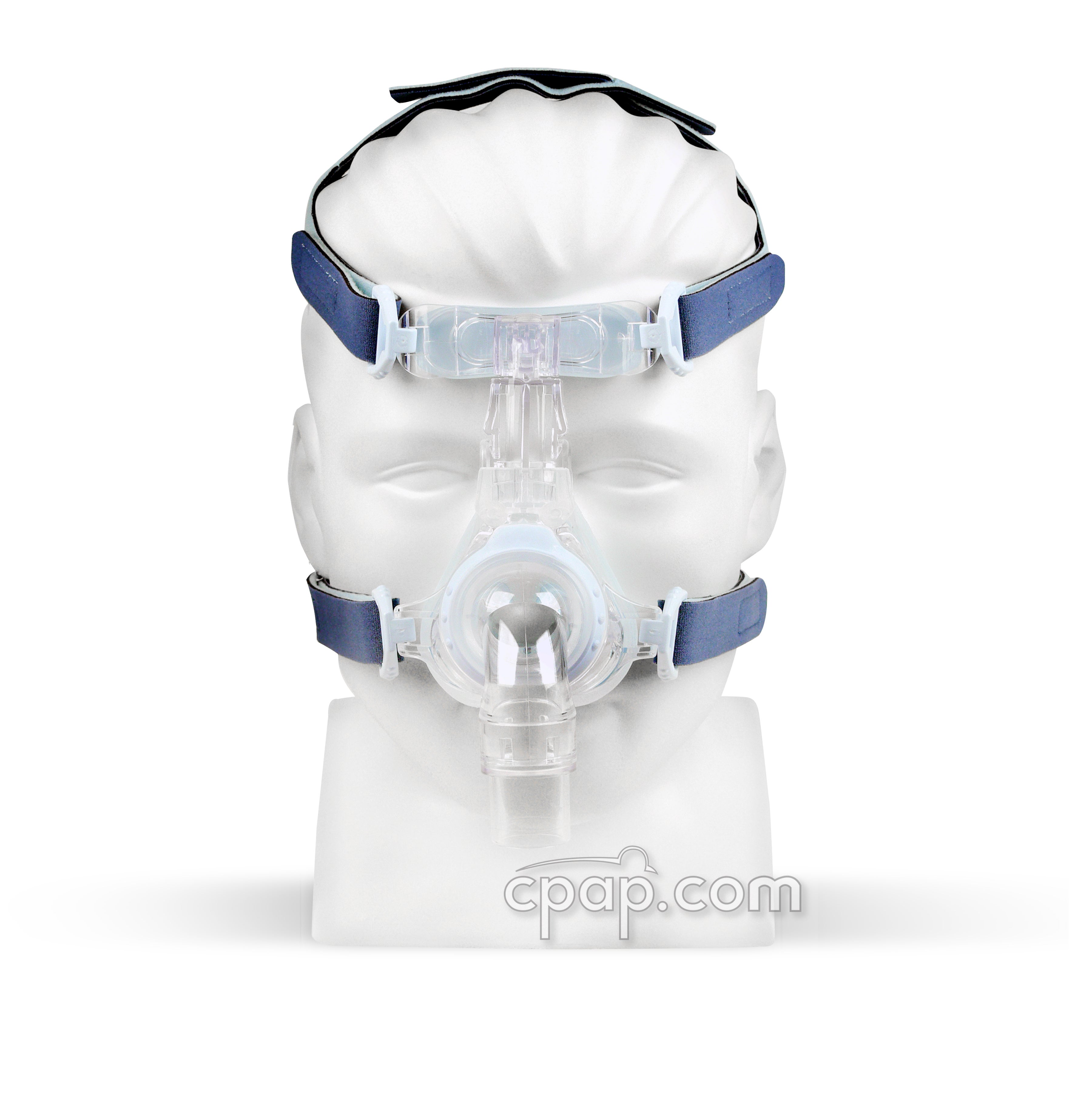 EasyFit SilkGel Full Face Mask (front on mannequin - not included)