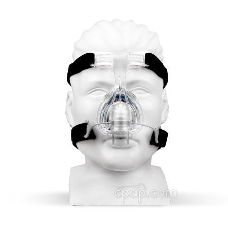 Zest Q Nasal CPAP Mask Headgear (Front- shown on mannequin)