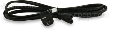 Product image for Power Cord for Respironics, Resmed S8 & S9, Sandman, and IntelliPAP Machines