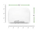 Product image for Disposable Universal Filters for ResMed Autoset-T (1 pack)