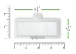 Product image for Disposable White Filters for Respironics Remstar Lite, Remstar Plus, Remstar Pro, Remstar Auto, Bipap Plus, Bipap Pro 2, Bipap Auto, Bipap ST (1 Pack)