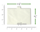 Product image for Disposable White Fine Filters for Respironics Duet LX, Bipap Pro, Synchrony, Synchrony-ST, and Harmony (6 Pack)