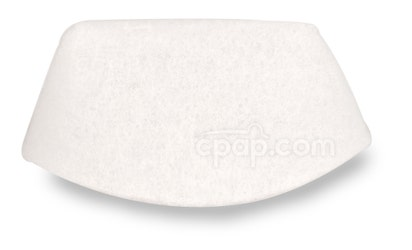 Disposable White Fine Filter for Z1 Travel CPAP Machine - Front