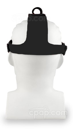 ADAM Circuit Headgear Black - Back - On Mannequin (Not Included)