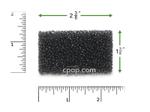 Product image for Reusable Black Foam Filters for Puritan Bennett 418 Standard (1 Pack)