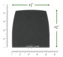 Product image for Reusable Black Foam Filters for Tranquility Quest, Tranquility Auto, Tranquility Bi-Level, Tranquility Quest Plus (2 Pack)