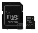 Product image for Micro SD Memory Card (4GB)