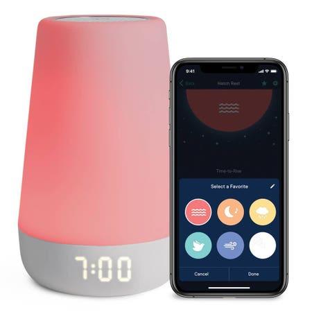 Hatch Rest+ Sound Machine and Night Light