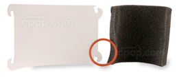Product image for Q-Tube Replacement Foam Kit