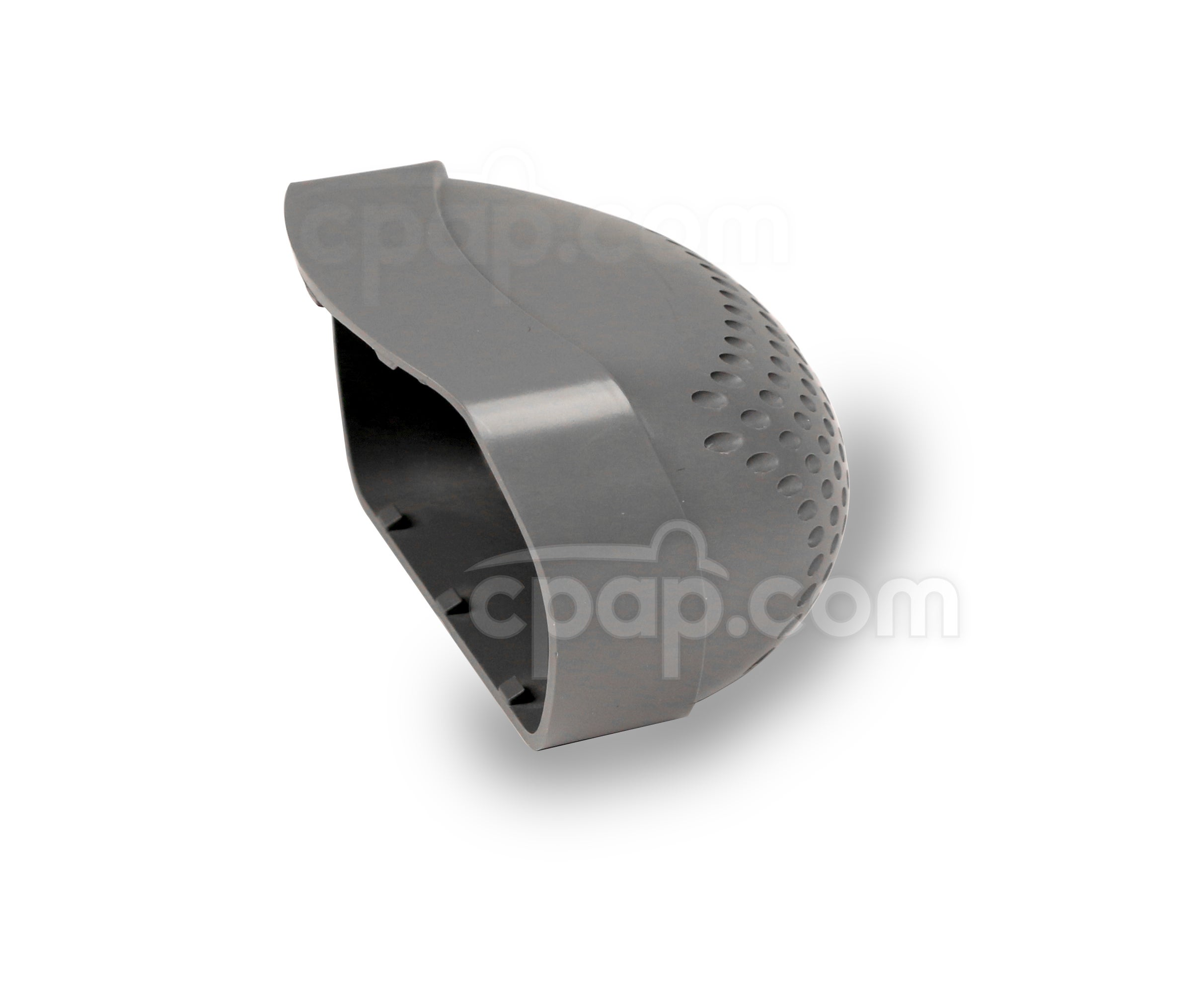 Plastic Filter End Cap for Z1 Travel CPAP Machine - Front View