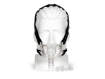 Product image for Hybrid Full Face CPAP Mask with Nasal Pillows and Headgear