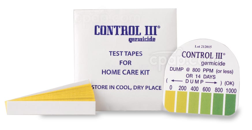Test Strips for Control III Disinfectant (15 Pack)