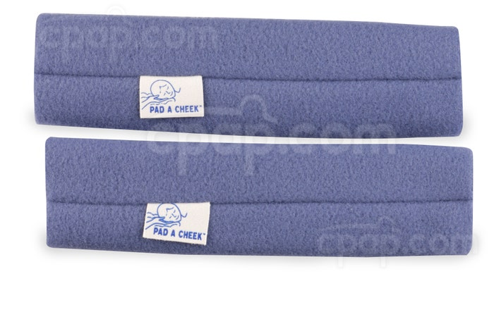 Medium Blue - Pad A Cheek Strap Pad Pair