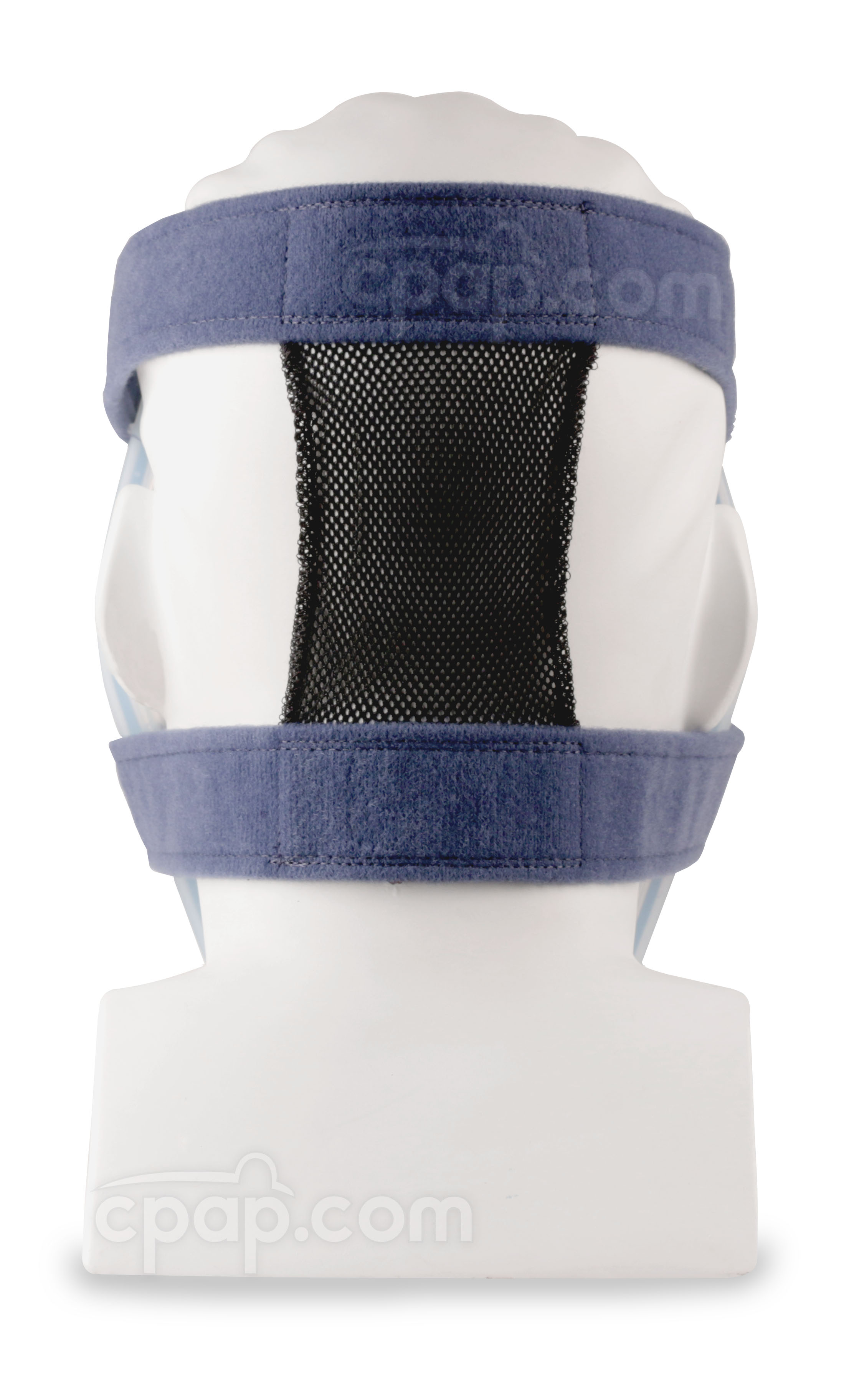 Back View of the Philips Respironics Total Face Mask Headgear (Shown with the Mask Attached - Mask Not Included)