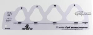 Product image for ComfortGel Mask Sizing Gauge