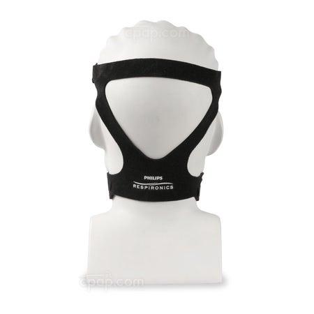 Black Headgear for ComfortGel Blue Full Face Mask (Mannequin Not Included)