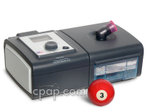 Product image for PR System One REMstar BiPAP ST Machine