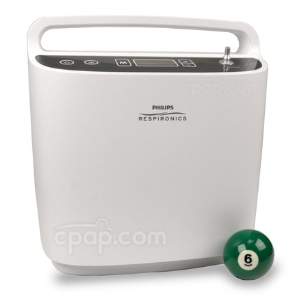 SimplyGo Portable Oxygen Concentrator (Billiards Ball Not Included)