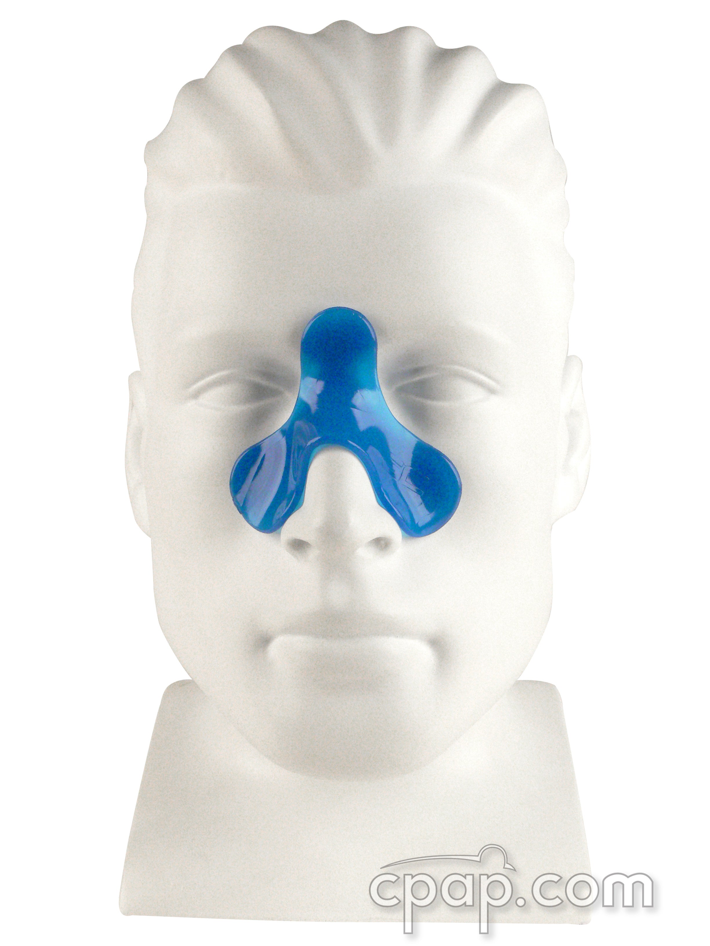 Nasal Soft CPAP Cushion - Shown on Mannequin (not included)