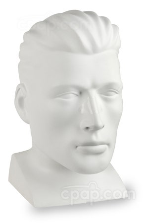 LiquiCell Nasal CPAP Cushion - Angled View (Mannequin Not Included)