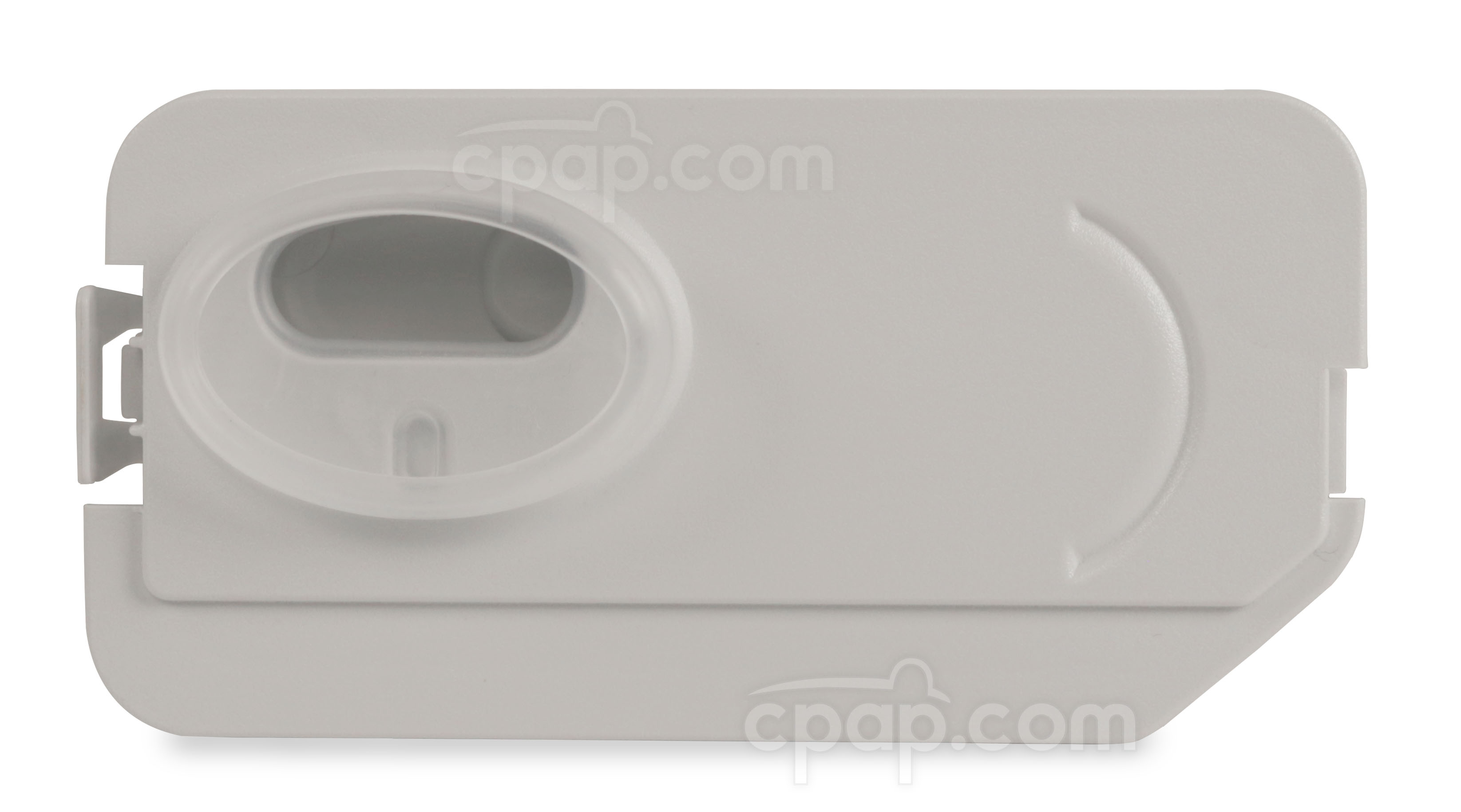 Front View of the DreamStation Heated Humidifier Dry Box Assembly - (Does Not Include Inlet Seal)