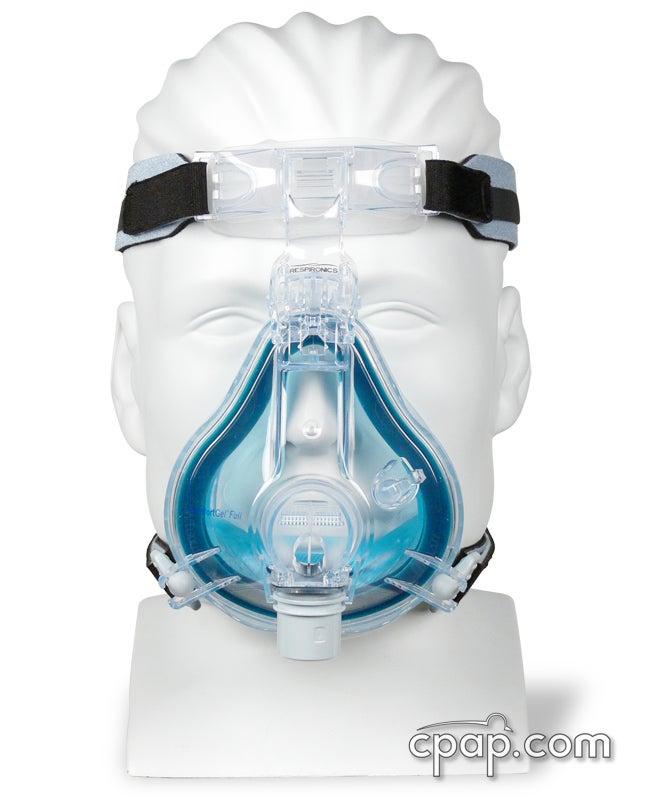 Respironics ComfortGel Full Face Mask and Headgear