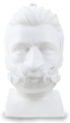 Product image for DreamWear Full Face CPAP Mask with Headgear (Small and Medium Frame Included)