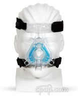 Product image for ComfortGel Blue Nasal CPAP Mask with Headgear