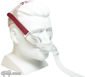 Product image for GoLife For Men Nasal Pillow CPAP Mask with Headgear Version 2