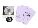 Product image for SilverLining 3.10 Data Management Software, SilverLining 3.10 Clinical Kit with software, 6' download cable and manuals