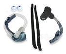 Product image for Breeze Nasal Pillow CPAP Mask Bundle (Mask with Headgear and Pillows)