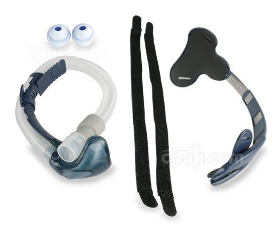 Breeze Nasal Pillow CPAP Mask Bundle (Shown Unassembled)