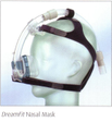 Product image for DreamFit Nasal CPAP Mask with Dreamseal and Headgear