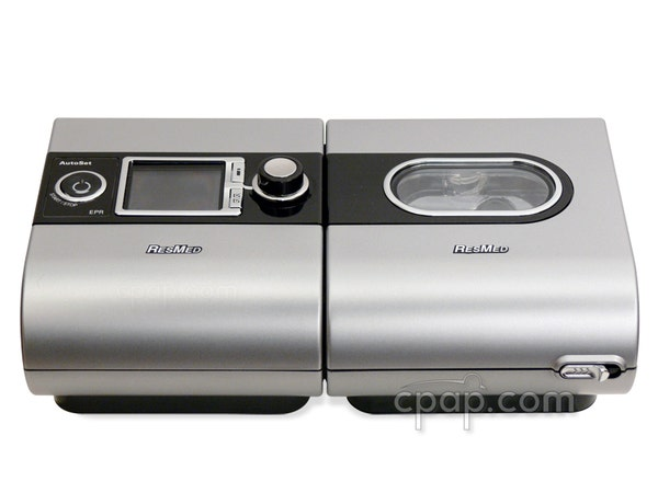 The S9™  Escape CPAP Machine and Included S9™ Series H5i™ Heated Humidifier with Climate Control