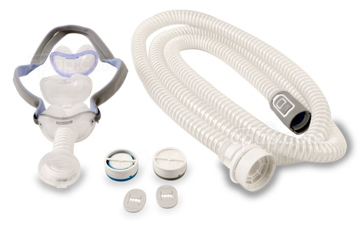 AirMini™ Mask Setup Pack with AirFit™ P10 Nasal Pillow CPAP Mask